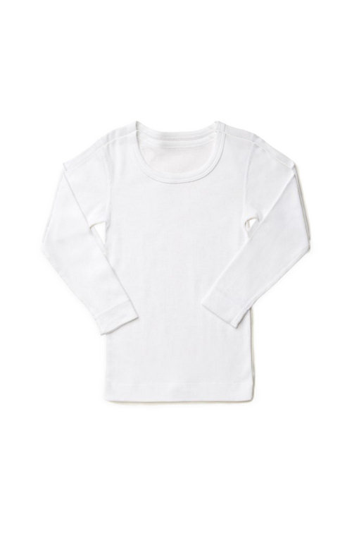 Marquise long sleeve top white | Sweet Arrivals Baby Hampers