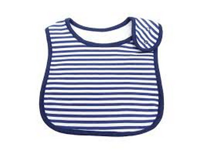 Emotion & Kids navy and white bib | Sweet Arrivals baby hampers