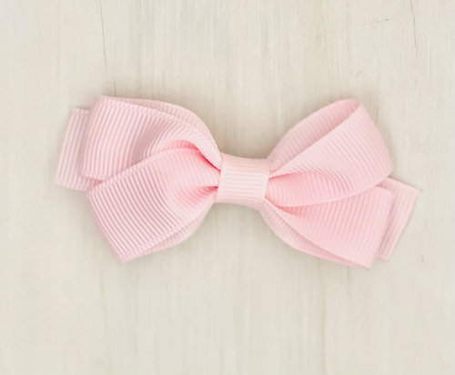 Pink Bow Hair Clip | Sweet Arrivals Baby Hampers