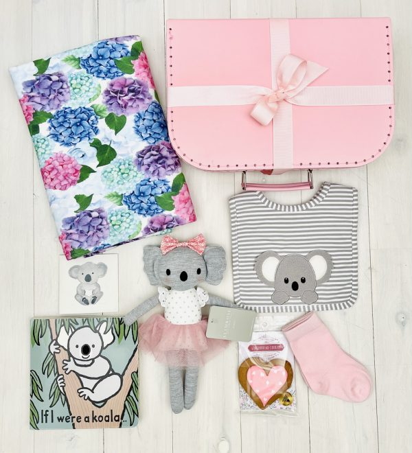 Pink Koala   Sweet Arrivals baby hampers