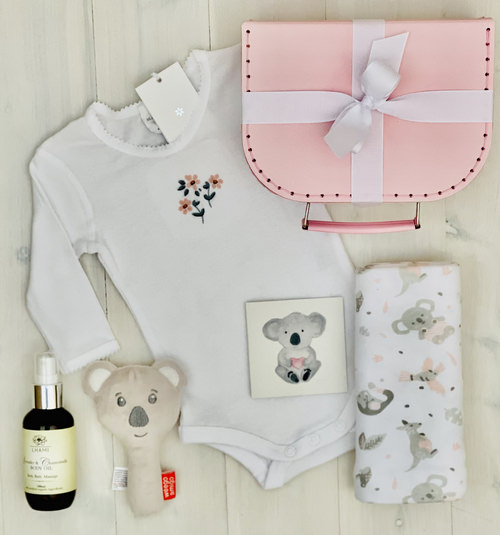 Pink Koala | Sweet Arrivals Baby Hampers