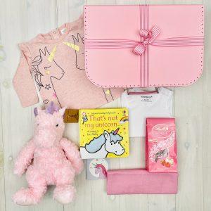 Pink Unicorn | Sweet Arrivals baby hampers