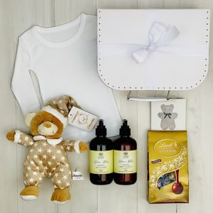 Teddy for mum & Bub | Sweet Arrivals Baby Hampers