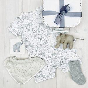 Teeny Elephant | Sweet Arrivals baby hampers