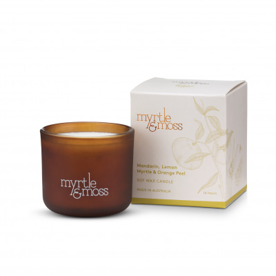Myrtle & Moss candle | Sweet Arrivals baby hampers