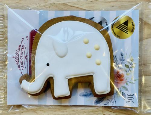 Adris elephant gingerbread | Sweet Arrivals baby hampers