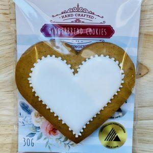 Adris gingerbread heart | Sweet Arrivals baby hampers