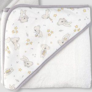 Little Linen Hooded Towel | Sweet Arrivals baby hampers