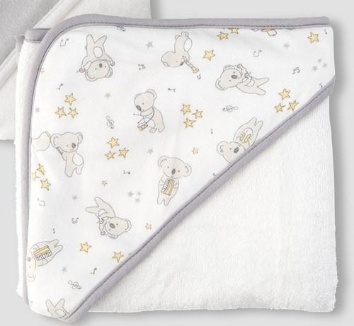 Little Linen Hooded Towel   Sweet Arrivals baby hampers