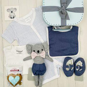 Blue Koala | Sweet Arrivals baby hampers