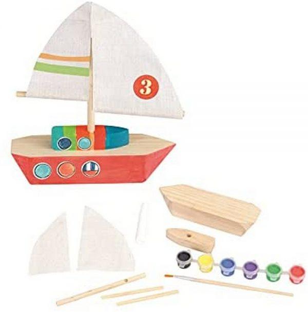 Egmont wooden sailing boat | Sweet Arrivals baby hampers