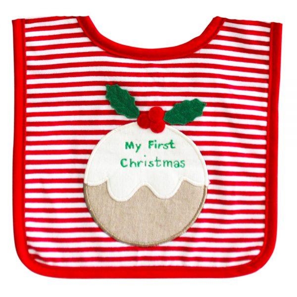 Alimrose Christmas Bib | Sweet Arrivals baby hampers
