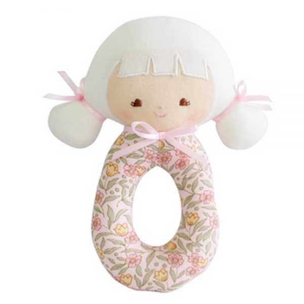 Alimrose Audrey ratlle | Sweet Arrivals baby hampers